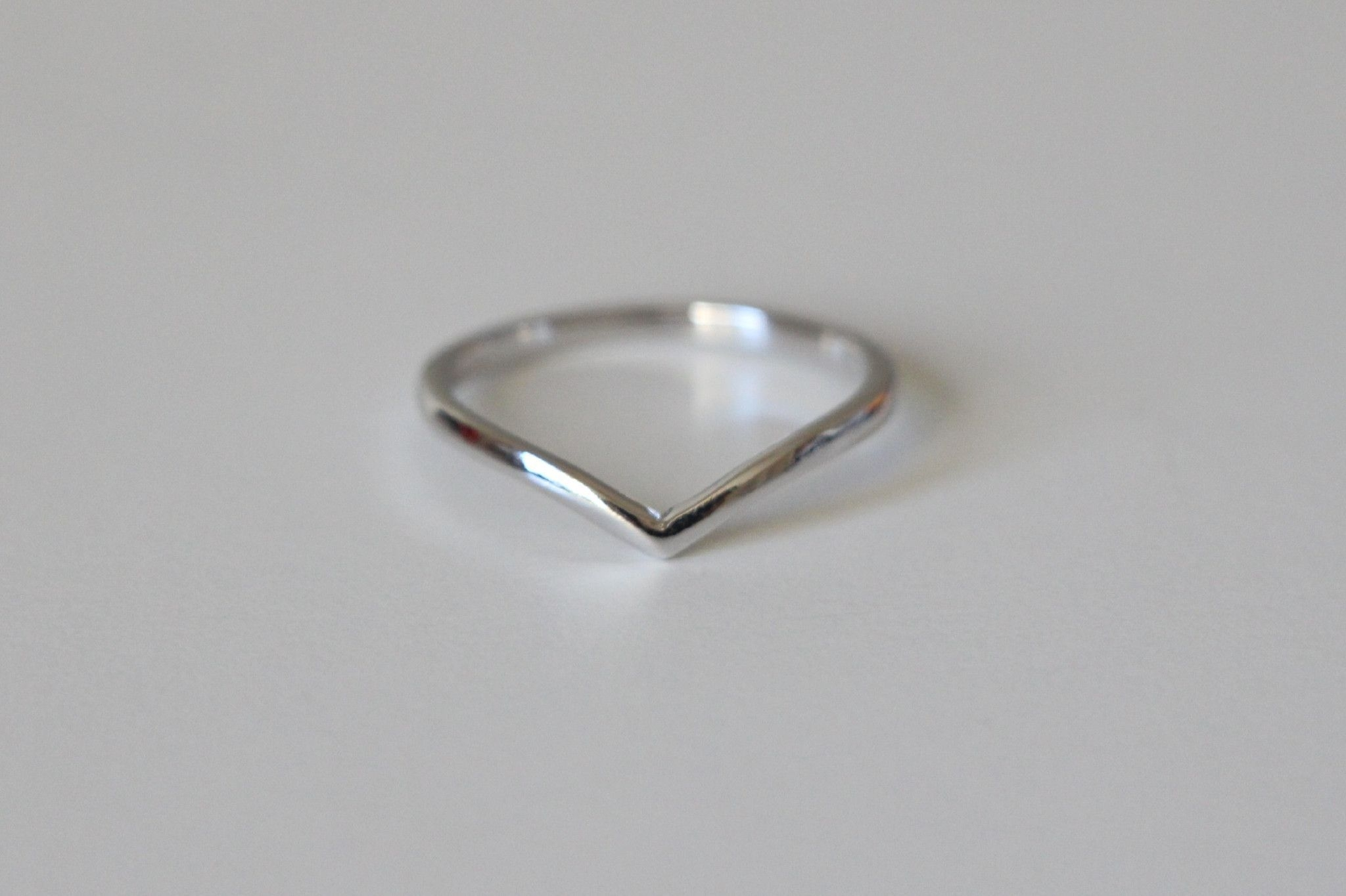 Sterling Silver Chevron Ring | Gift Ideas | Pinterest | Chevron In Current Silver Chevron Rings (View 15 of 15)