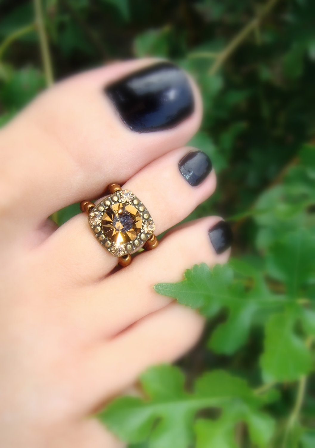 Stunning Toes Rings | Toe Ring | Pinterest | Toe Rings, Ring And Pertaining To Recent Toe Rings With Diamonds (Gallery 2 of 15)