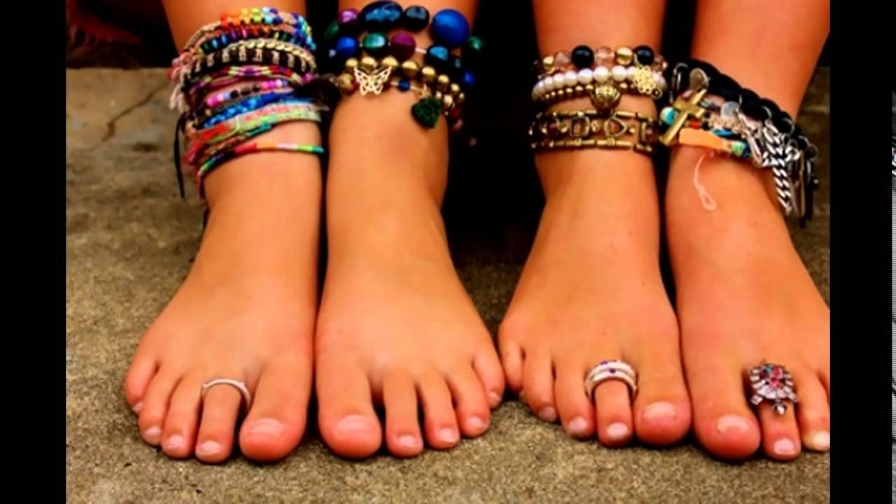 Summer Is Coming: Toe Rings And Anklets – Youtube Inside Most Popular Anklets With Toe Rings (View 2 of 16)