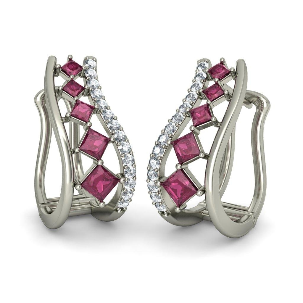 The Arlene Earrings #bluestone #jewellery #jewelry #fashion #royal With Regard To Recent Bluestone Toe Rings (View 12 of 15)