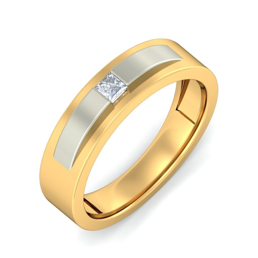 The Confident Male Ring #gold #alluring #bluestone #jewellery Inside Most Popular Bluestone Toe Rings (Gallery 6 of 15)