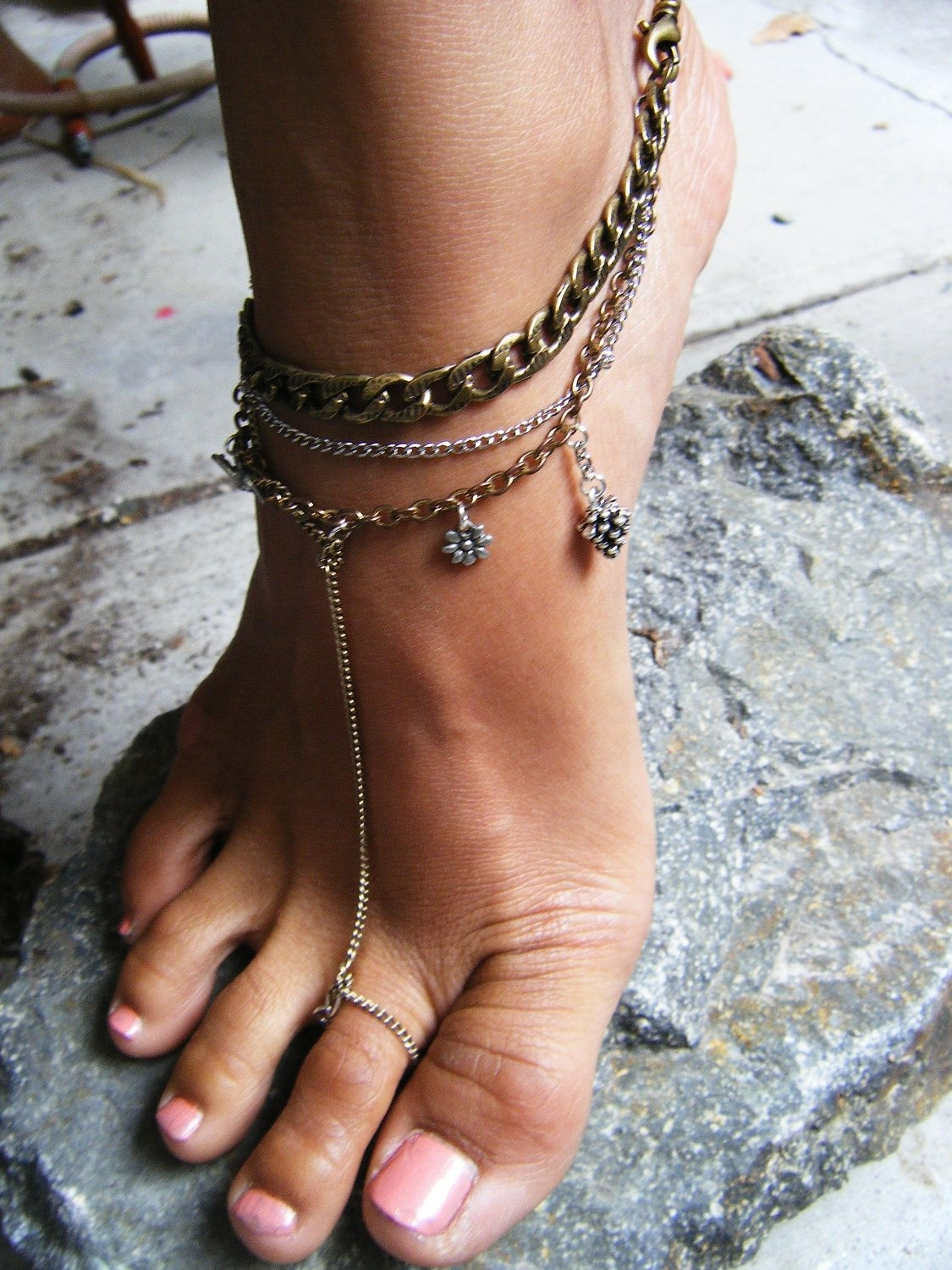 Toe Rings Meaning – Know More About Them | Toe Rings, Anklet And Ring With Regard To Most Popular Ankle Bracelet Toe Rings (View 11 of 25)