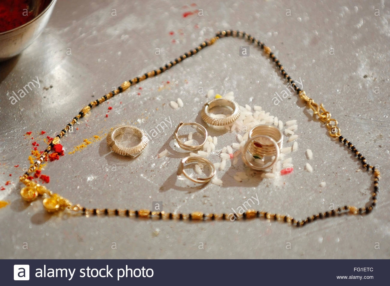 Toe Rings Stock Photos & Toe Rings Stock Images – Alamy Within Best And Newest Traditional Toe Rings (View 3 of 15)
