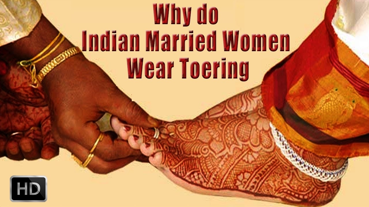 Toe Rings – Why Do Indian Married Women Wear Toerings – Youtube For 2018 Wedding Toe Rings (View 10 of 15)