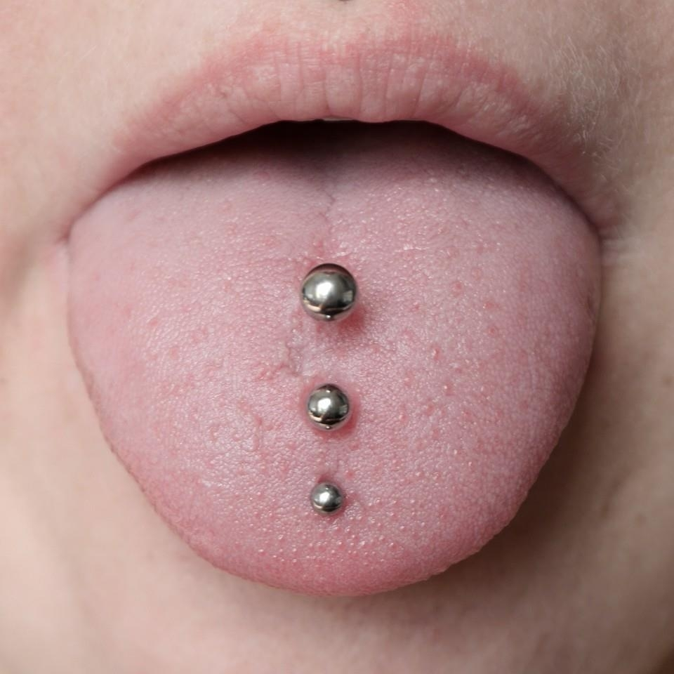 Featured Photo of Chevron Tongue Rings