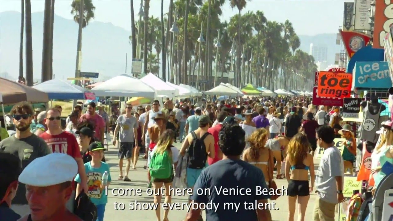 Venice Beach, Ca (Al Fresco) – Youtube Regarding Most Current Venice Beach Toe Rings (View 15 of 15)
