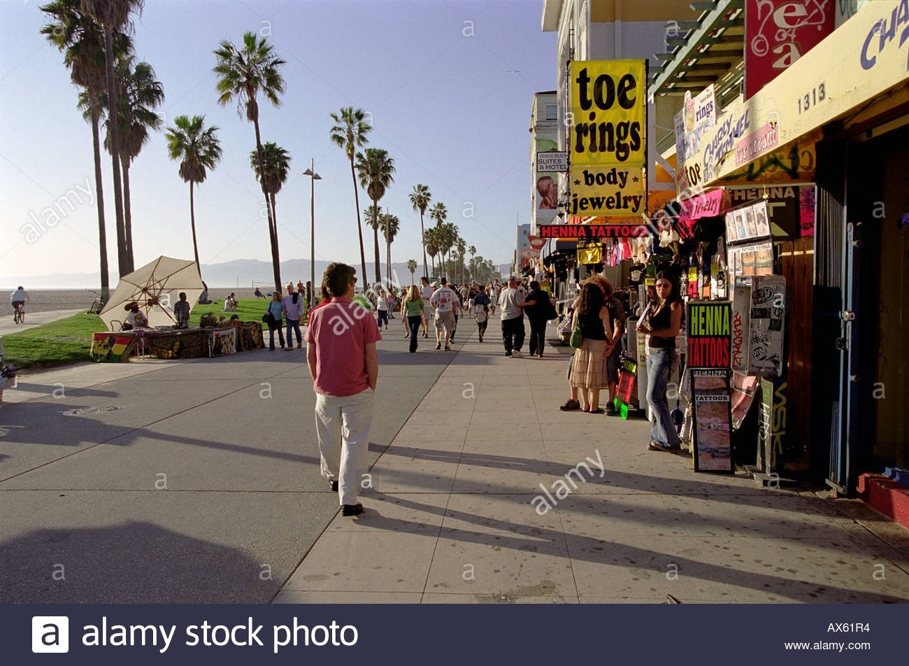 Venice Beach California Shop Front Stores Stock Photo: 9566003 – Alamy Inside Most Recent Venice Beach Toe Rings (View 14 of 15)