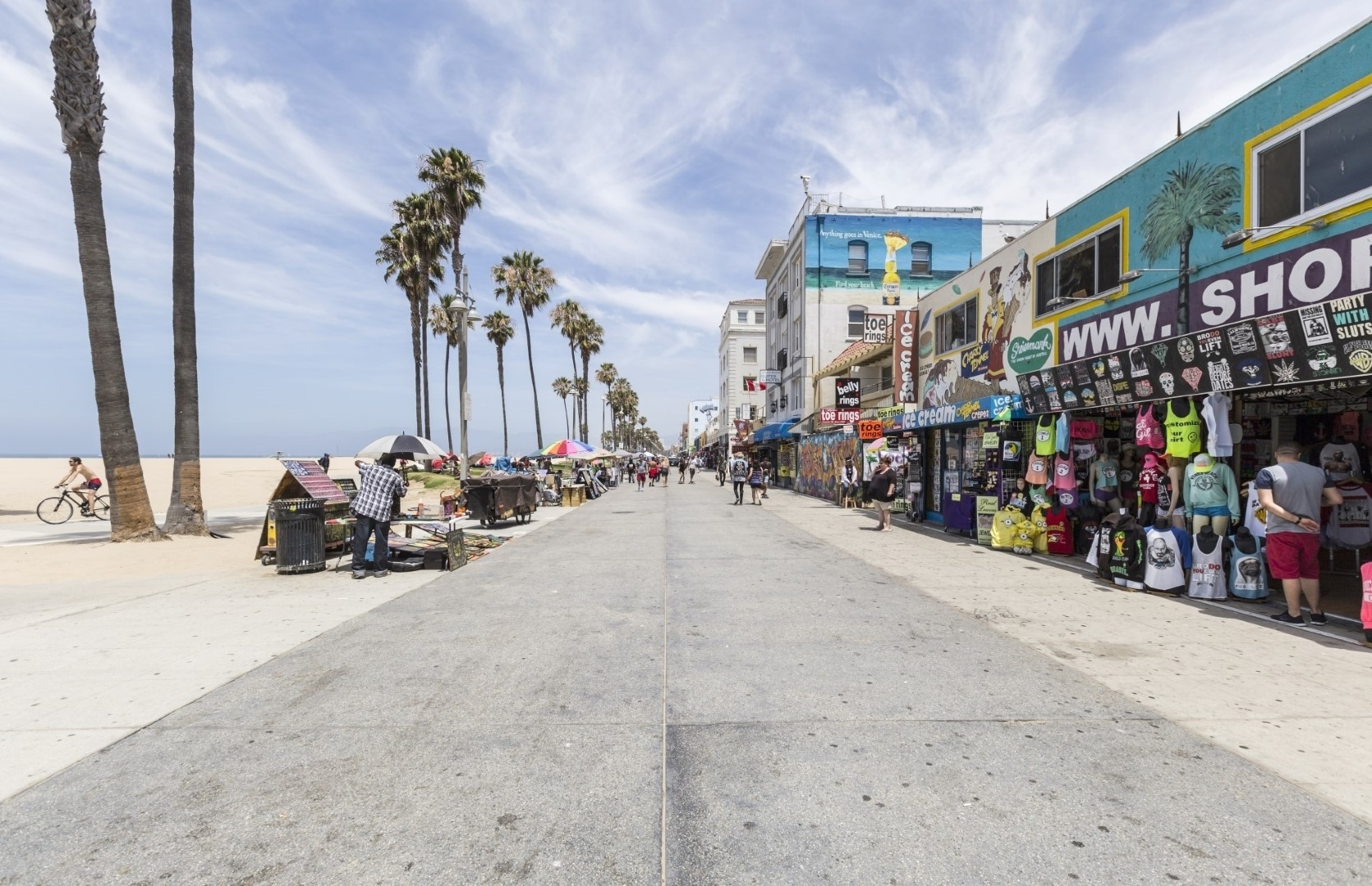 Venice Beach – One Of La's Top Attractions – California Beaches In Most Current Venice Beach Toe Rings (View 13 of 15)