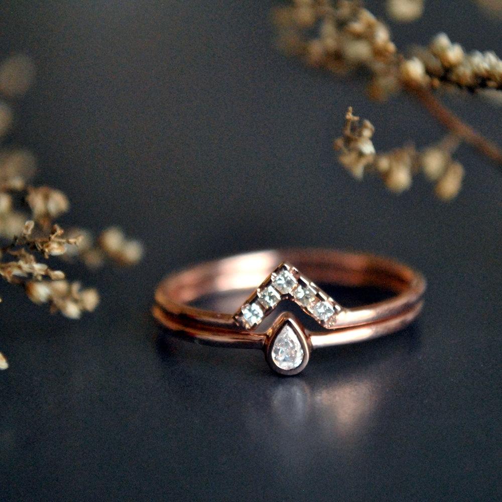 Wedding Ring Set (View 15 of 15)