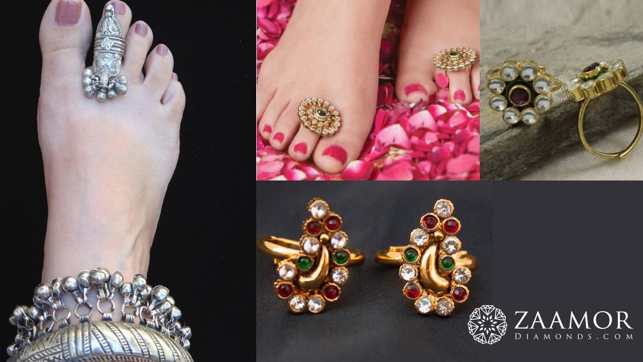 What Is Temple Jewellery? How To Wear Temple Jewellery? | Zaamor Intended For Newest Traditional Toe Rings (View 14 of 15)