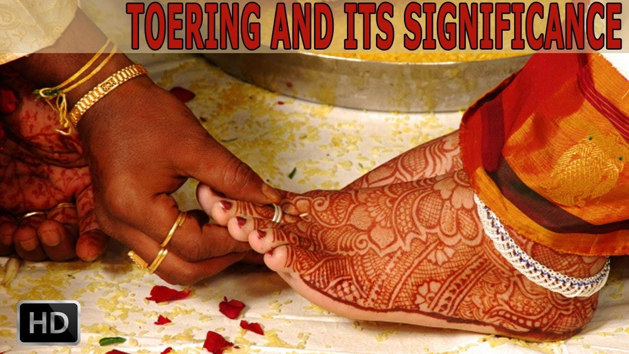 Why Do Indian Married Women Wear Toe Rings – Significance And Pertaining To Most Recently Released Wedding Toe Rings (View 14 of 15)