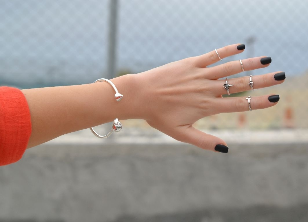 "Would You Wear This Jewelry Trend?: Top Knuckle Or ""midi"" Finger Rings Inside Latest Diy Chevron Knuckle Rings (View 14 of 15)"