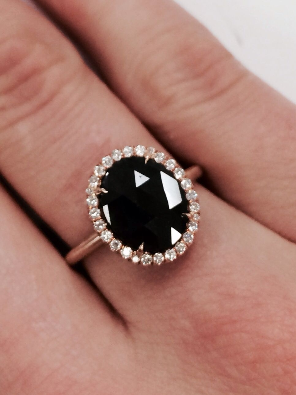 15 Non Traditional Engagement Rings Worth Considering | Jewels Inside 2018 Vintage Style Black Diamond Engagement Rings (View 1 of 15)