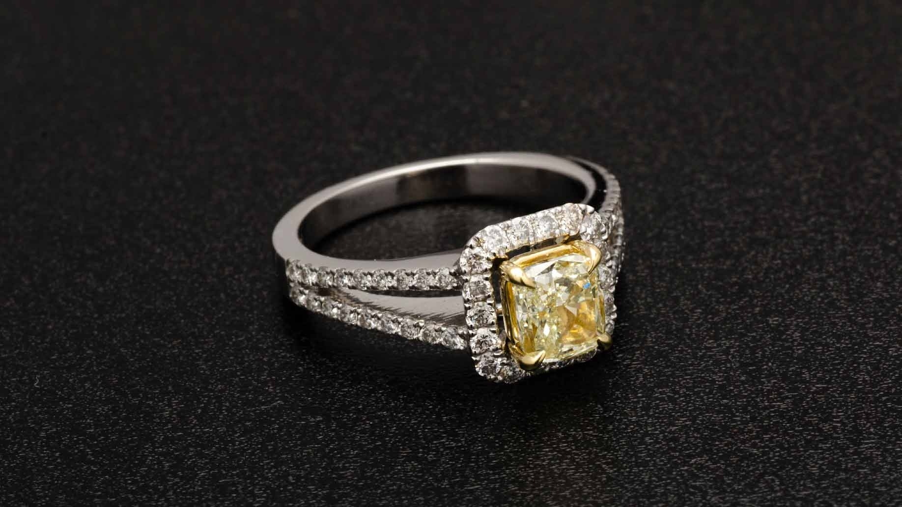 6 Ways To Save On An Engagement Ring – Cheap Diamond Alternatives Regarding Most Recent Vintage Style Non Diamond Engagement Rings (View 3 of 15)