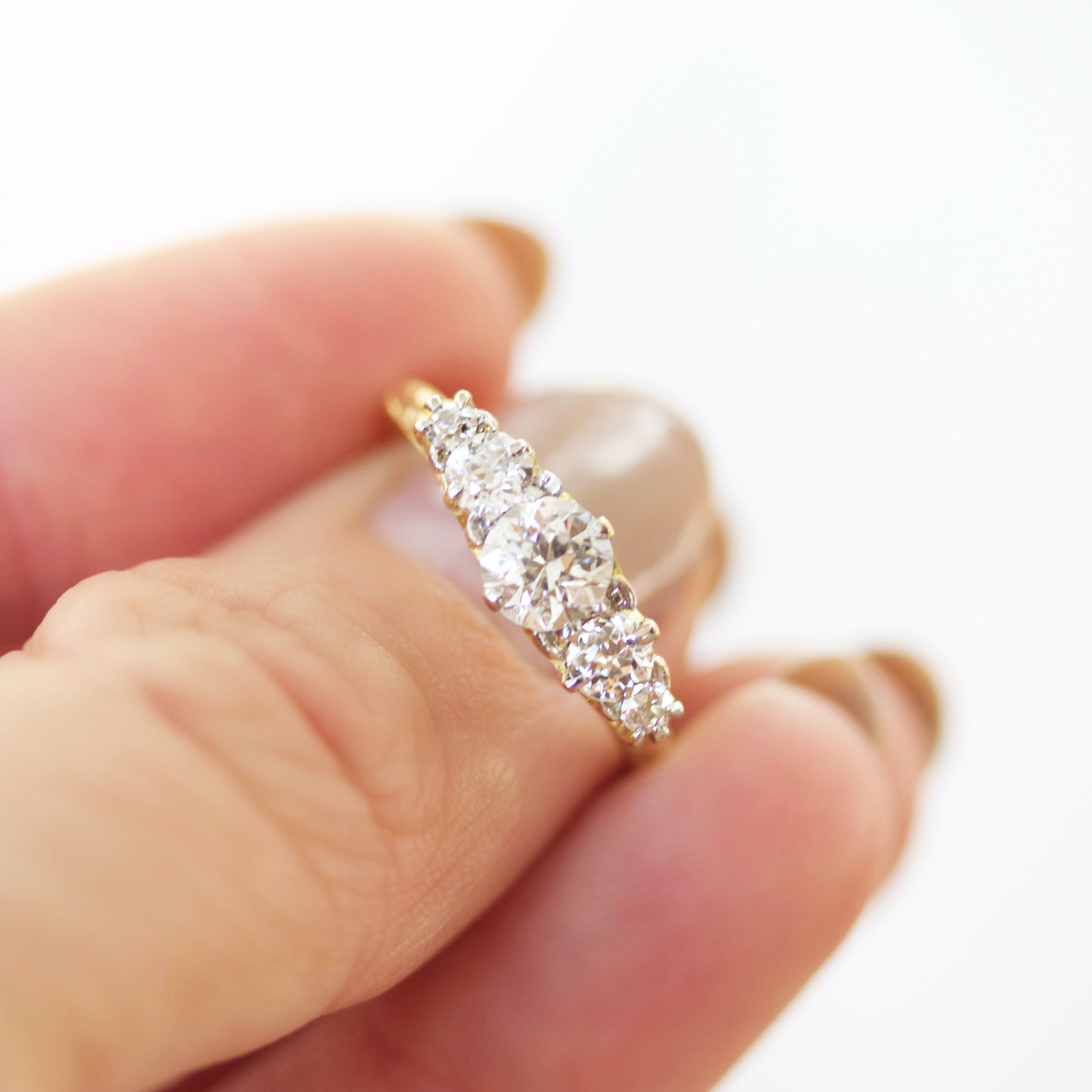 Annette In 2018 | Wedding Things | Pinterest | Engagement, Stone And Throughout Newest Lab Created Ruby Five Stone Anniversary Bands (View 14 of 15)