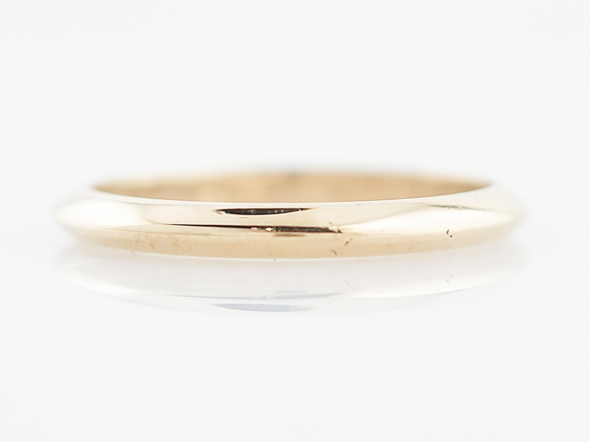 Antique Wedding Band Retro Tiffany & Co In 18K Yellow Gold With Most Up To Date Tiffanys Wedding Bands (Gallery 10 of 15)