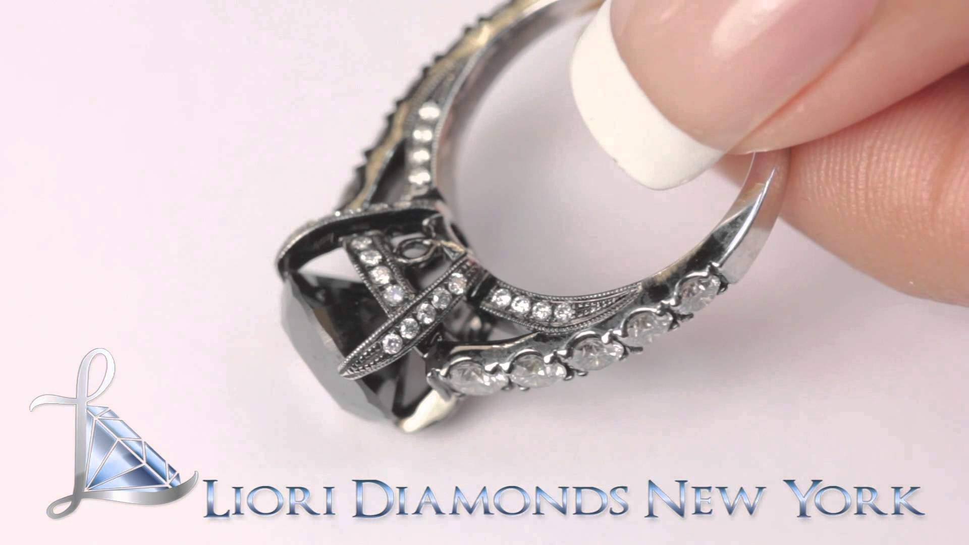 Featured Photo of Vintage Style Black Diamond Engagement Rings