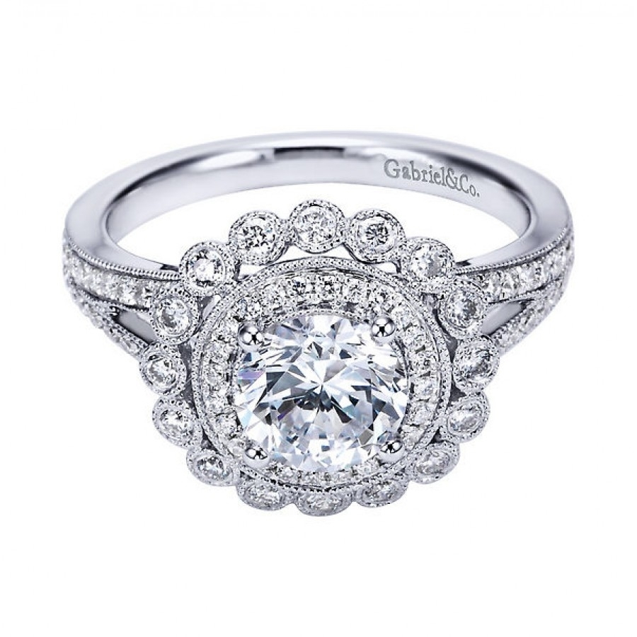 Best Of Antique Vintage Style Engagement Rings | Vintage Wedding Ideas With Regard To Most Up To Date Diamond Vintage Style Engagement Rings (Gallery 3 of 15)