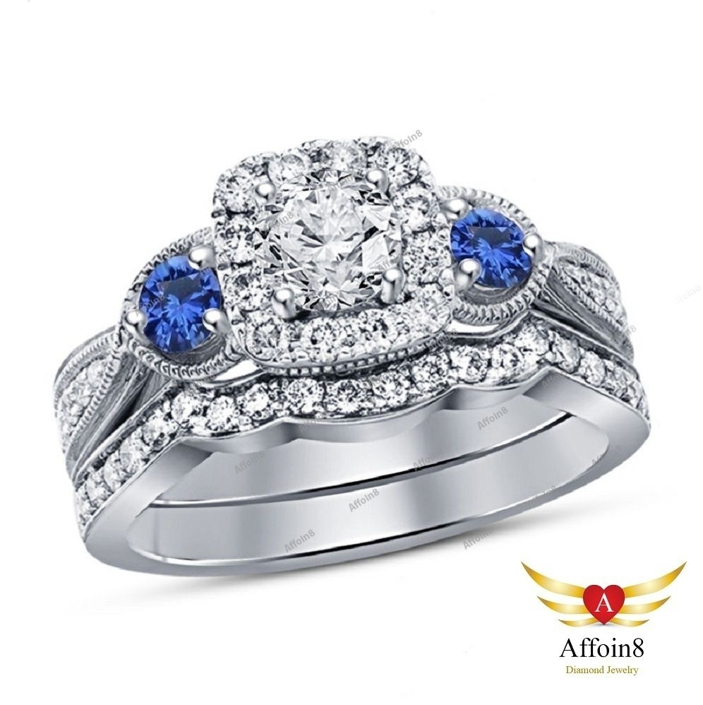 Best Of Vintage Style Sapphire Engagement Rings Design | Vintage With 2017 Vintage Style Diamond And Sapphire Engagement Rings (Gallery 12 of 15)