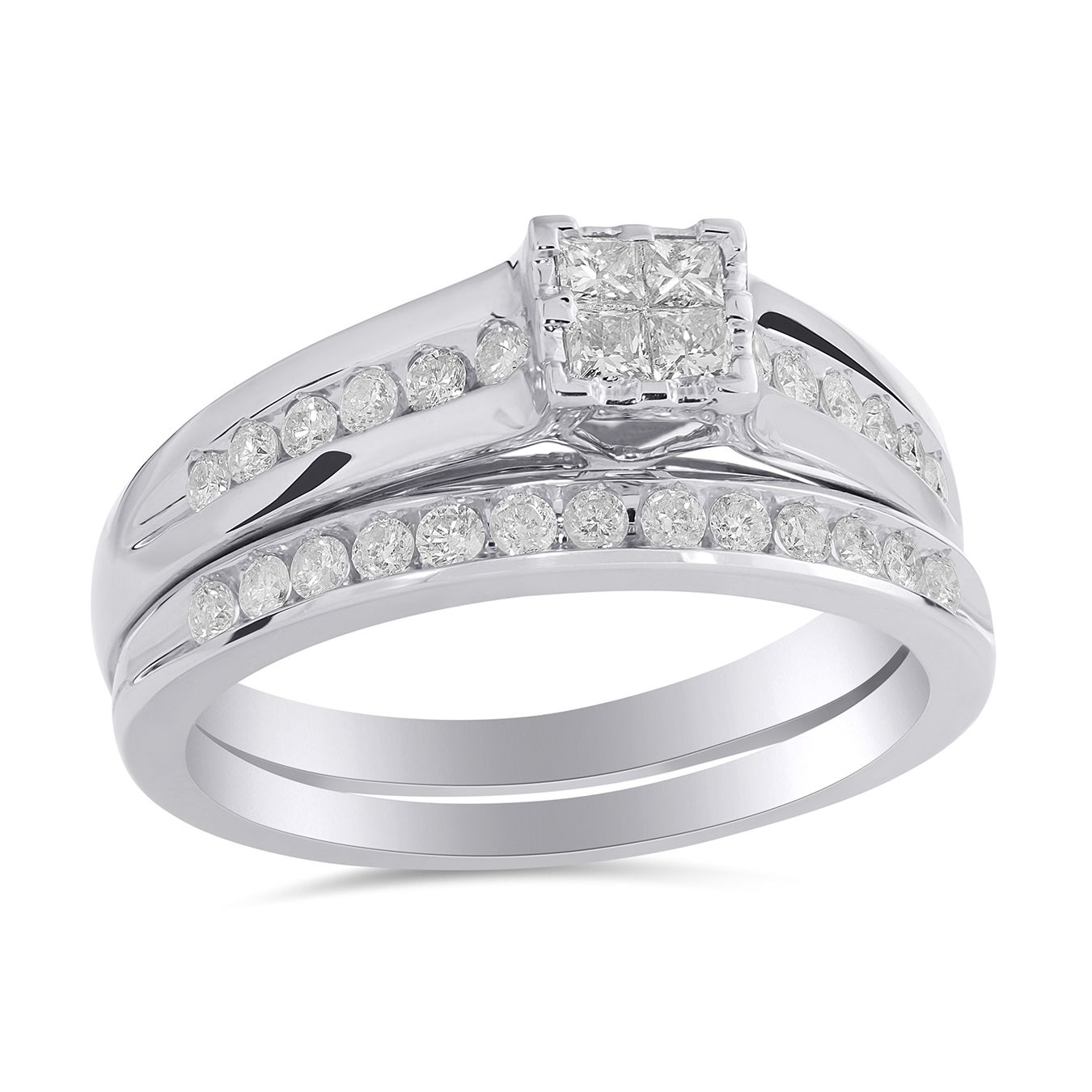 Classic & Elegant | Watches, Purses & Jewellery | Pinterest | Bridal For 2017 Marquise And Princess Cut Composite Diamond Six Stone Anniversary Bands (View 11 of 15)