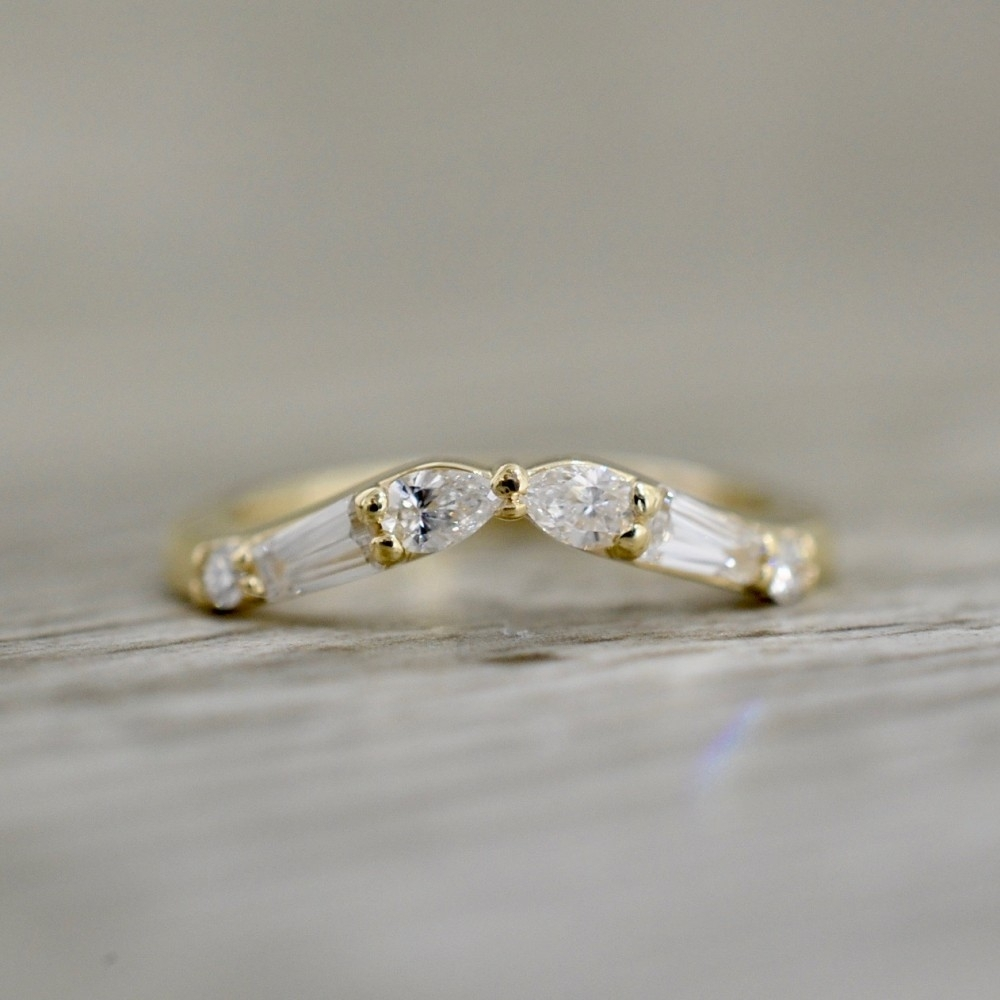 Diamond Wedding Bands Intended For Most Up To Date Diamond Tapered Wedding Bands (Gallery 10 of 15)