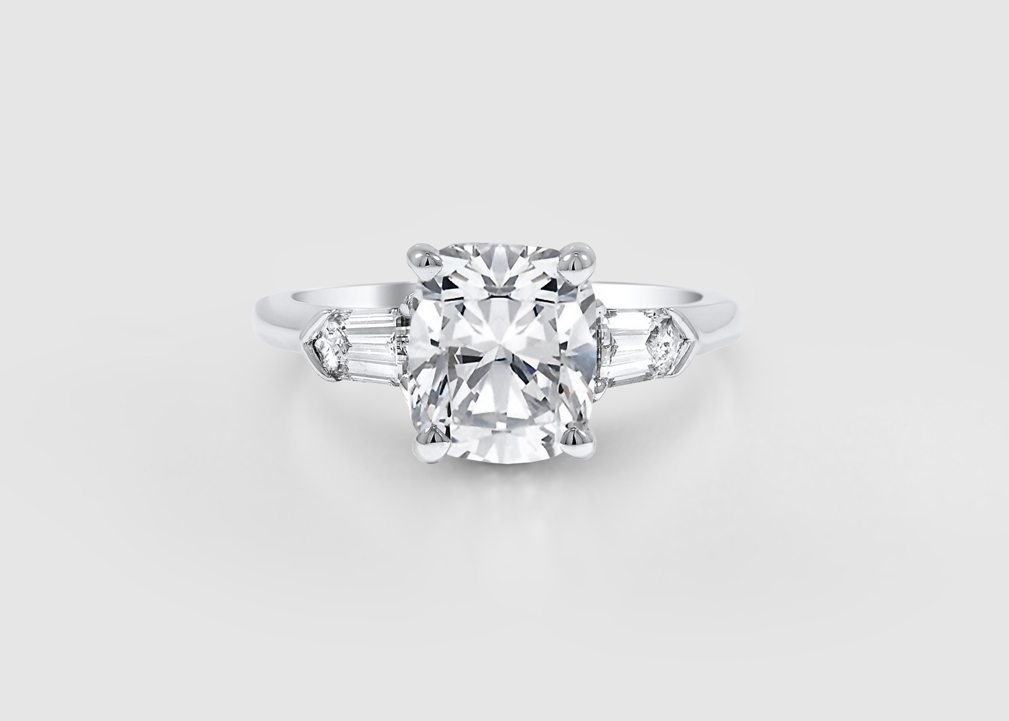 Engagement Ring Trends Of The Past, Present, And Future | Brilliant Intended For 2018 Vintage Style Diamond Anniversary Rings (View 8 of 15)