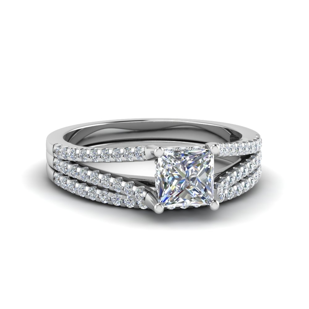 Exclusive Diamond Wedding Ring Sets | Fascinating Diamonds Pertaining To Best And Newest Diamond Tapered Wedding Bands (View 14 of 15)