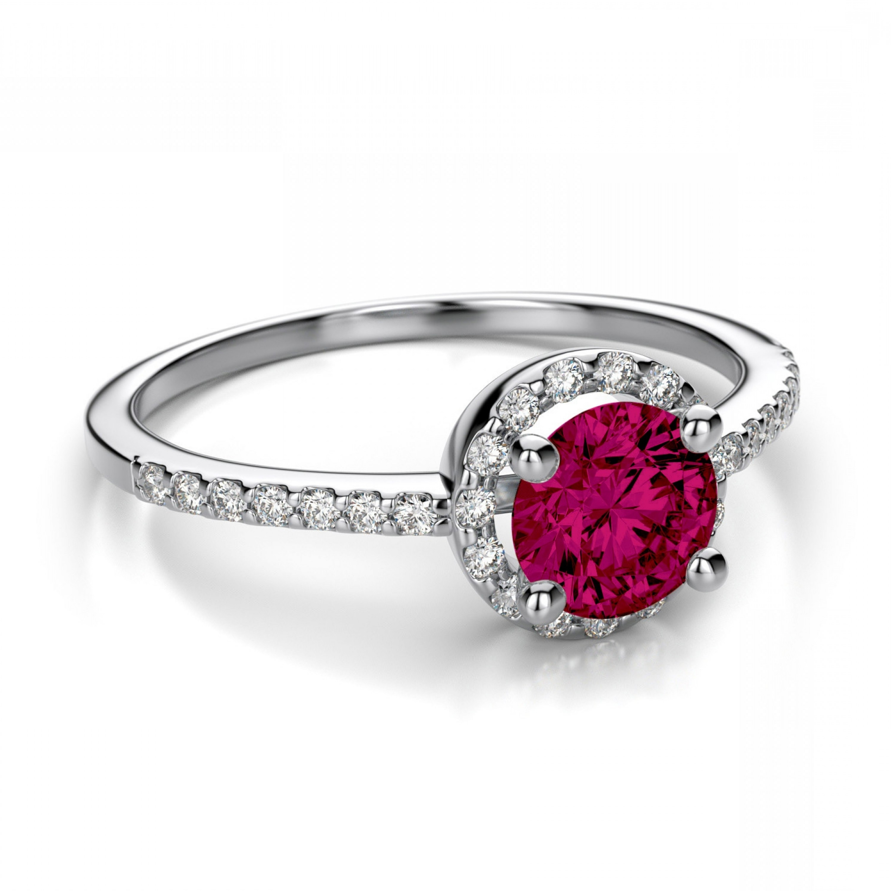 Natural Ruby Rings For Women | Caymancode Throughout Latest Lab Created Ruby Five Stone Anniversary Bands (Gallery 10 of 15)
