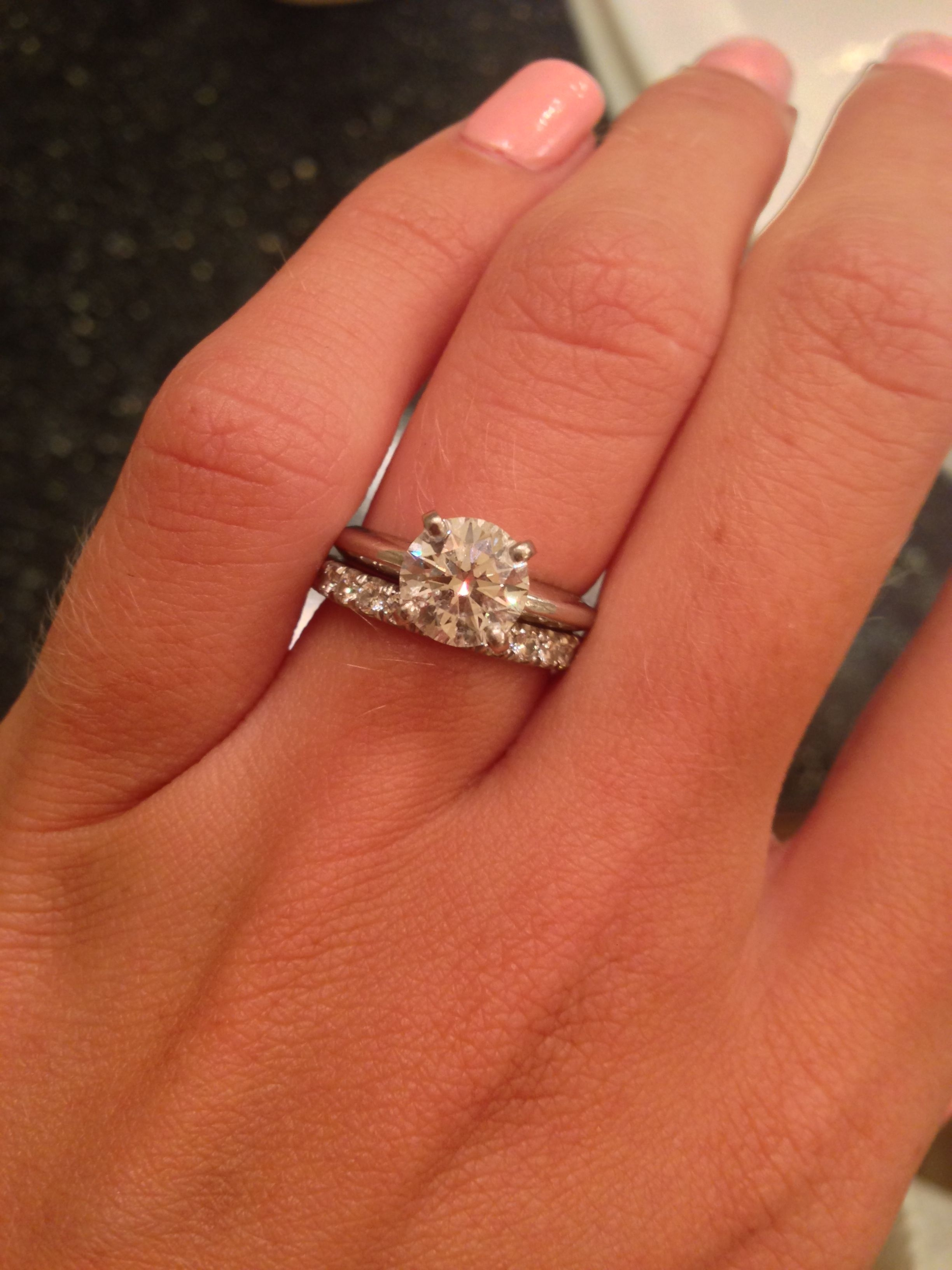 Stunning Costco Wedding Bands In Show Me Your Solitaire Rings With In Recent Costco Wedding Bands (View 15 of 15)