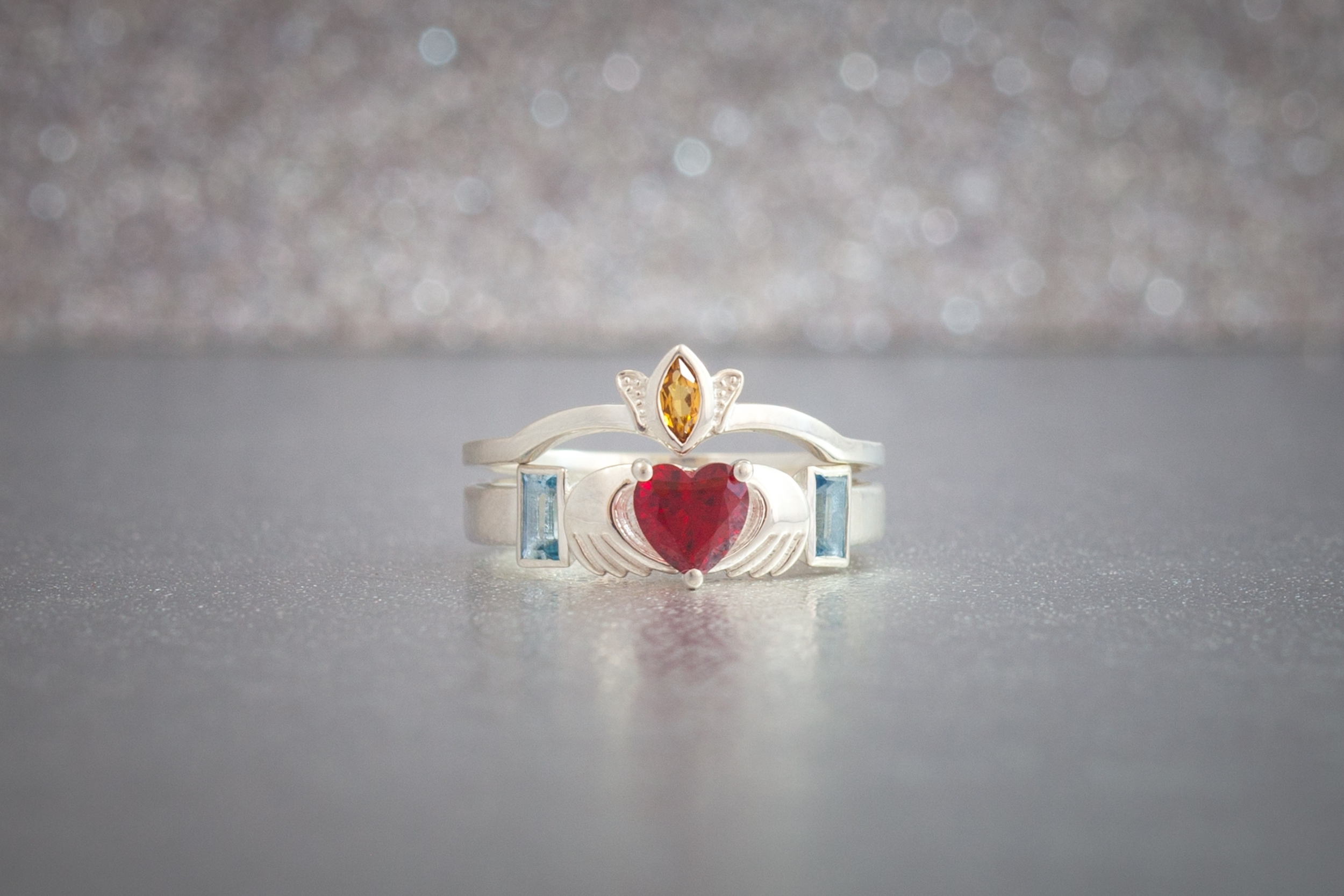 The Best Colored Gemstones For Your Engagement Ring – International With Most Current Lab Created Ruby Five Stone Anniversary Bands (View 15 of 15)