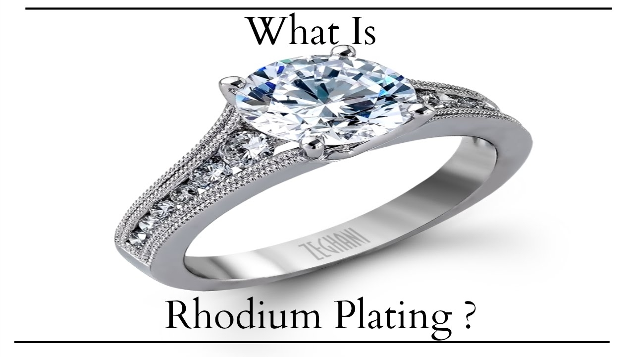 The Jewelers Secret : How To Make Silver Shine With Rhodium Plating Within Latest Diamond Wedding Bands In Sterling Silver With Yellow Rhodium (Gallery 15 of 15)