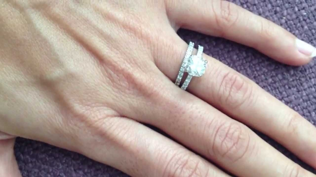 Tiffany Novo With Novo Wedding Band – Youtube Throughout Latest Tiffanys Wedding Bands (View 10 of 15)