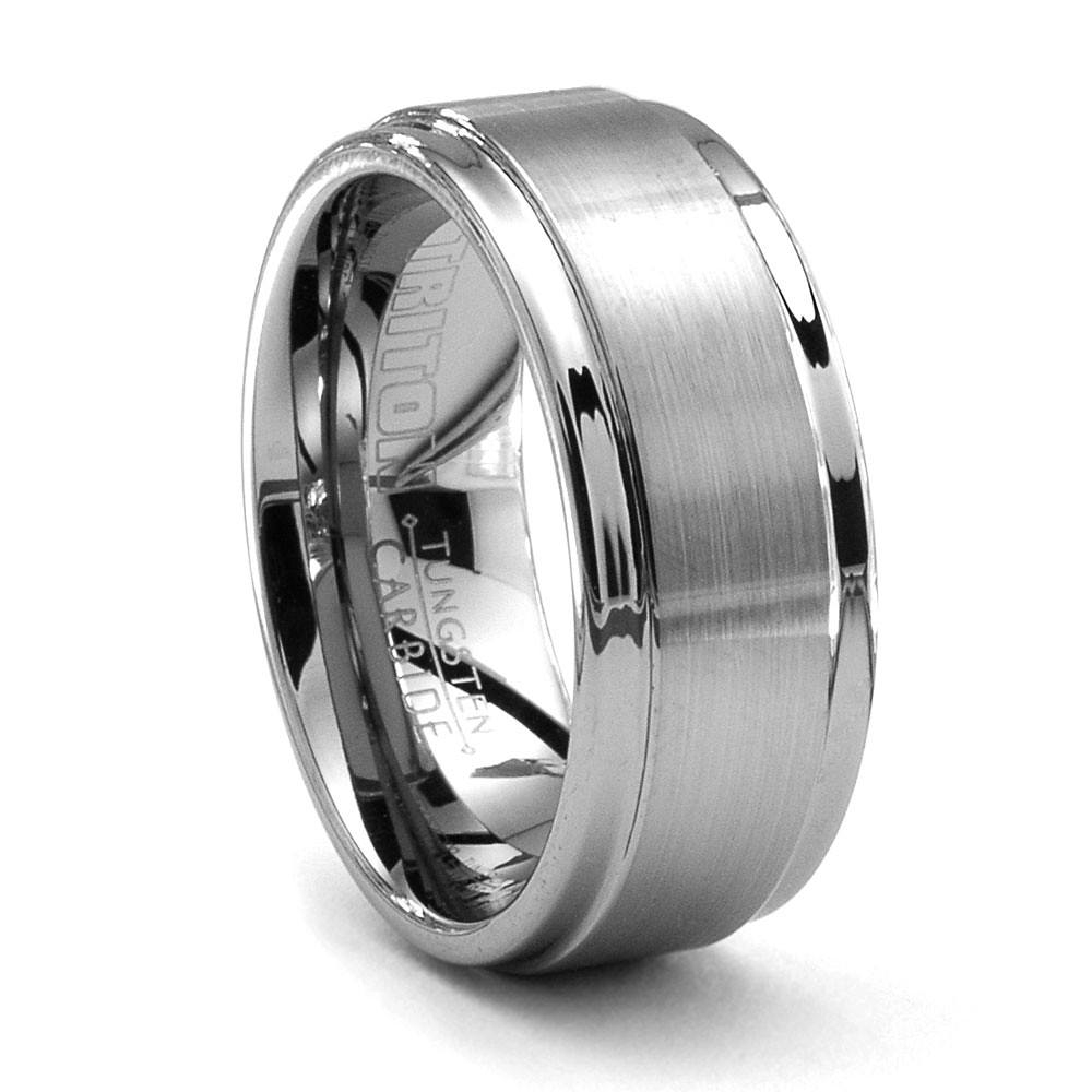 Triton Alto Tungsten Ring – 9Mm – Men's Wedding Band In Best And Newest Tungsten Wedding Bands (Gallery 12 of 15)