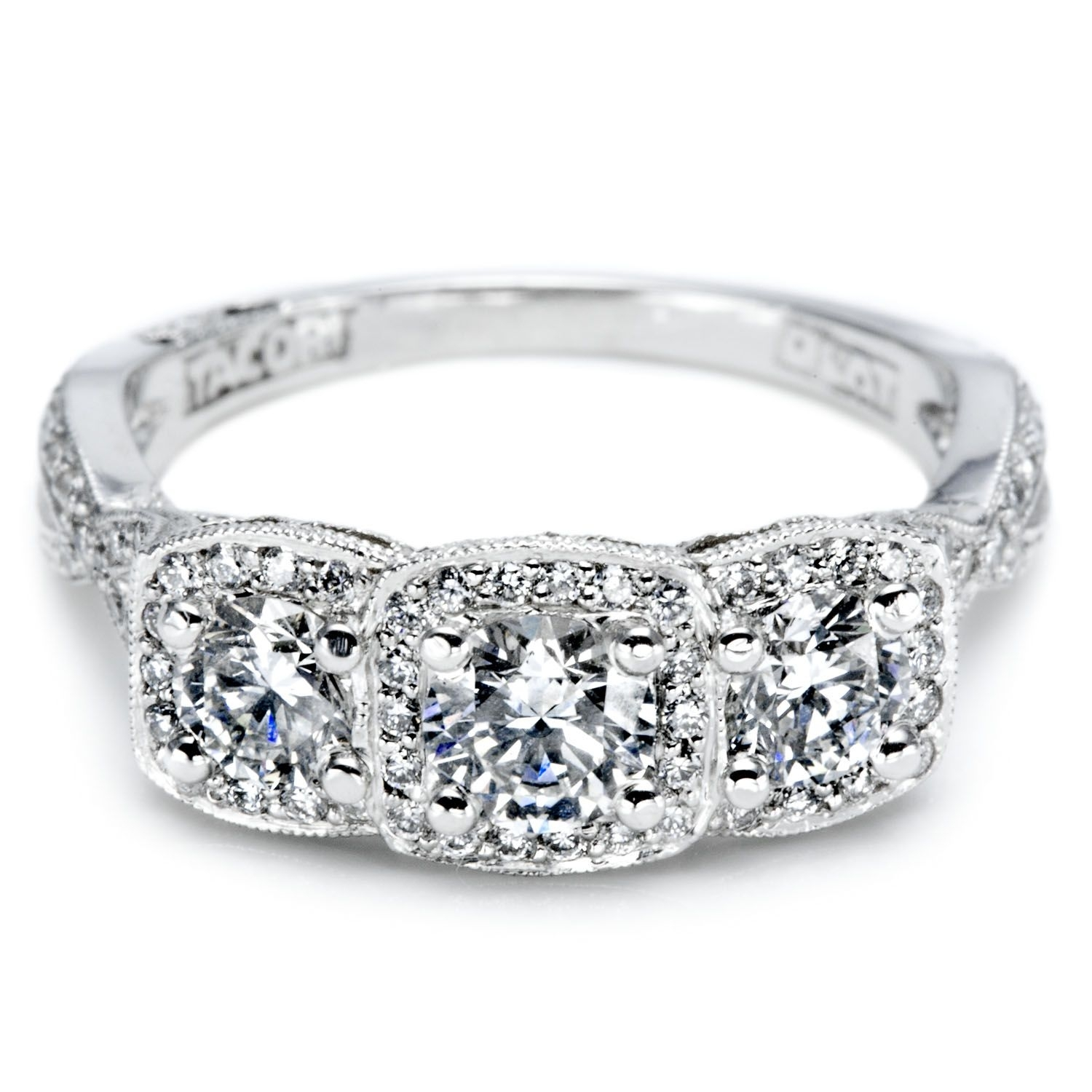 Unique Diamond Anniversary Rings | View Some Examples Of Different Regarding Most Recent Diamond Four Row Anniversary Bands In Sterling Silver (View 14 of 15)