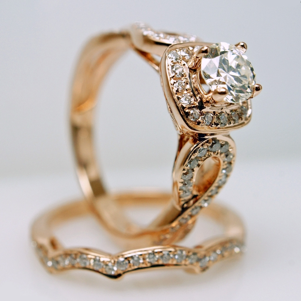 Vintage Gold Wedding Rings | Wedding, Promise, Diamond, Engagement Pertaining To Latest Vintage Style Gold Engagement Rings (View 14 of 15)