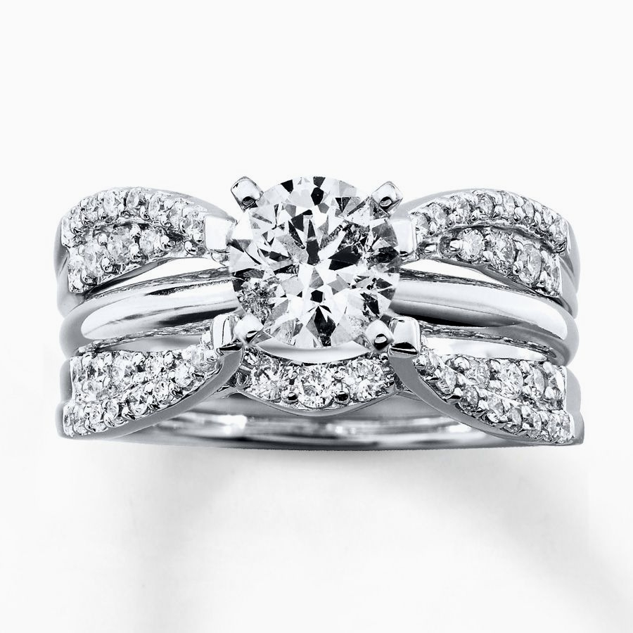 Wedding Ring Enhancers Awesome 1 3 Ct T W Diamond Contour Solitaire With Regard To 2018 Diamond Contour Solitaire Enhancers In 14K White Gold (View 14 of 15)
