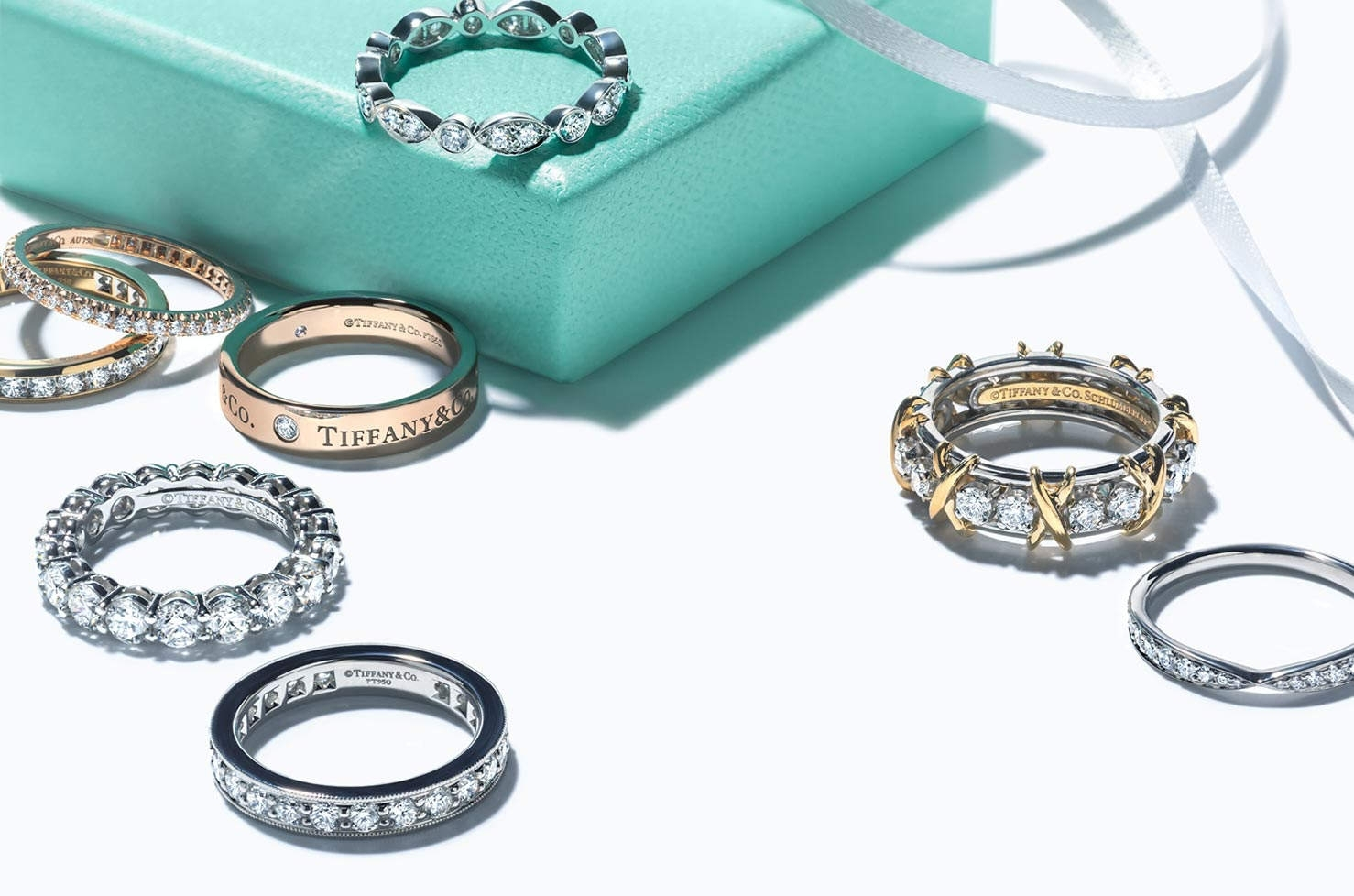 Wedding Rings And Wedding Bands | Tiffany & Co (View 15 of 15)