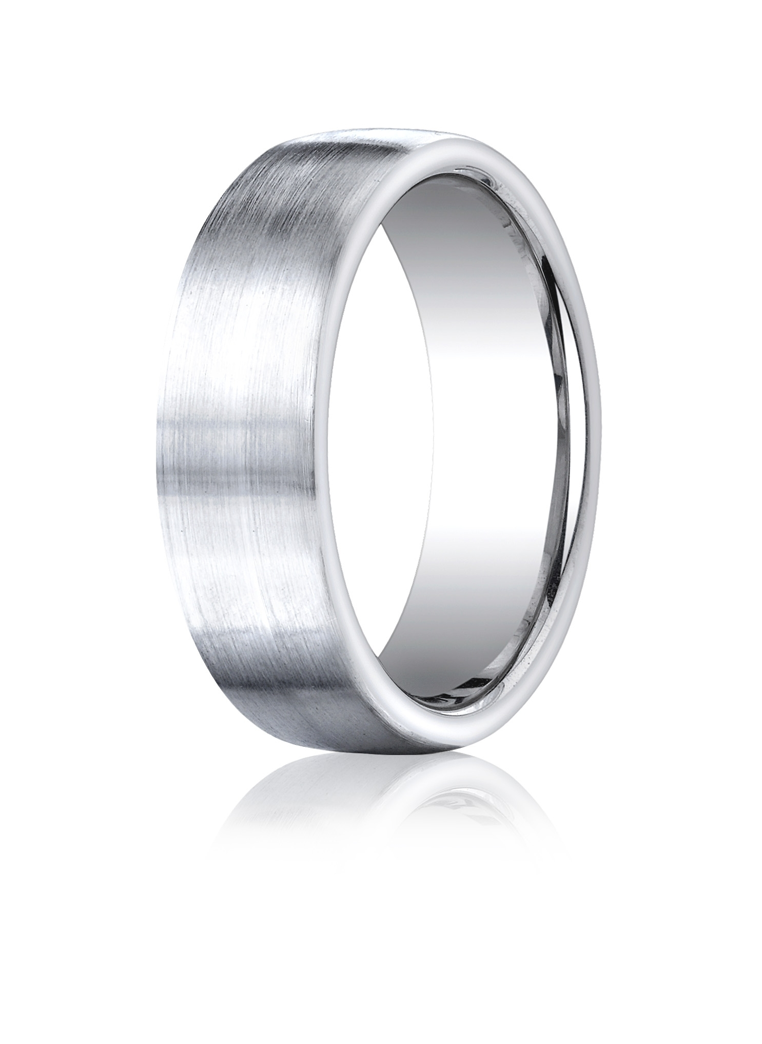 Why Is This Cobalt Chrome Ring Such A Popular Men's Wedding Band? Inside Current Polished Comfort Fit Cobalt Chrome Wedding Bands (Gallery 12 of 15)