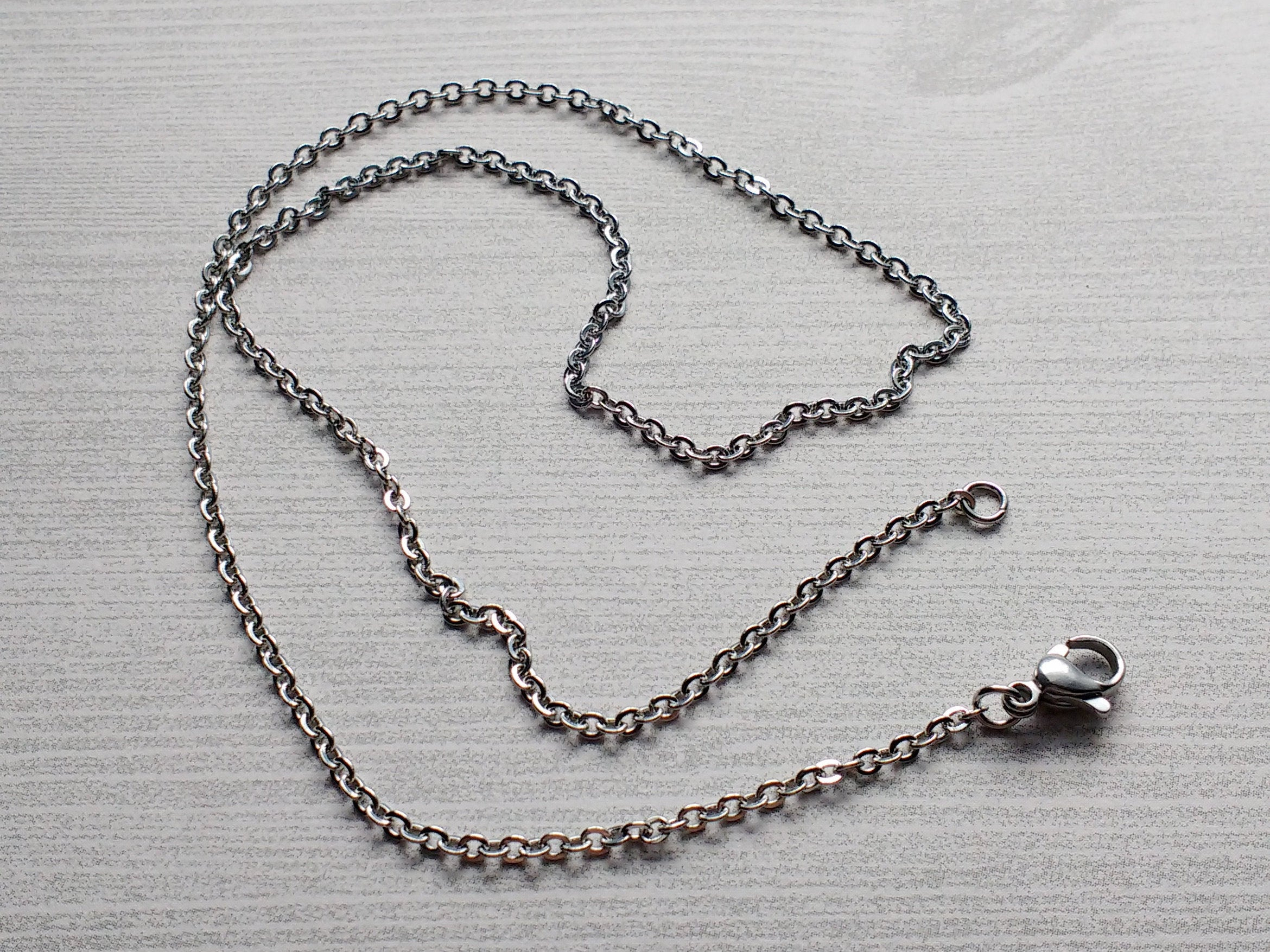 10 Cable Chain Necklaces  (View 1 of 25)