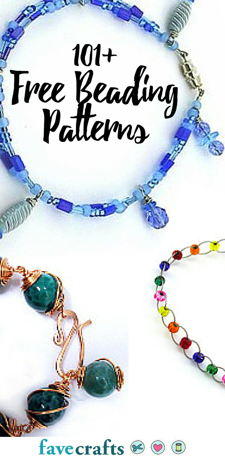 101+ Free Beading Patterns | Diy Jewelry | Beading Patterns Free Regarding Latest Multi Colored Crystal Patterns Of Frost Pendant Necklaces (View 18 of 25)