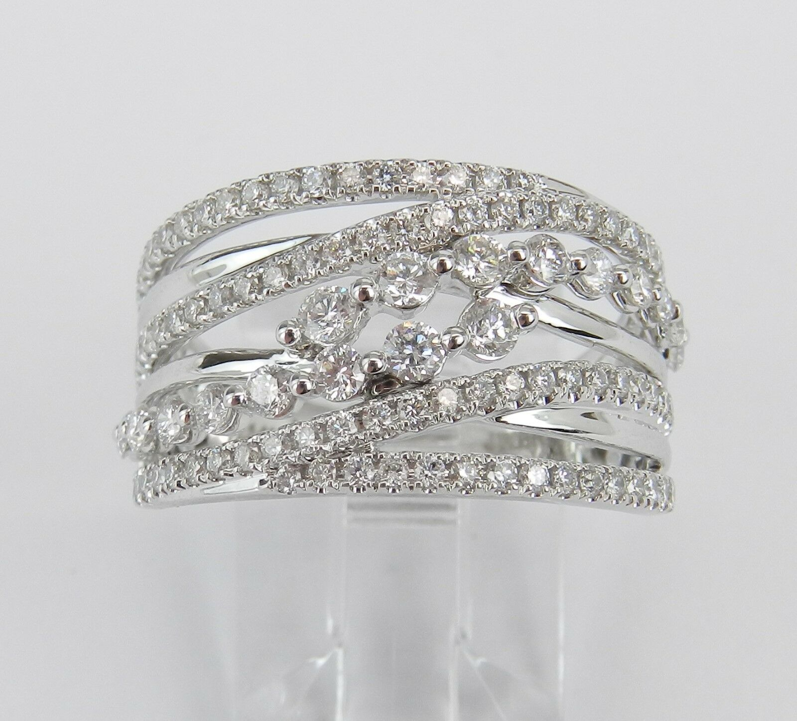 14K White Gold  (View 3 of 25)