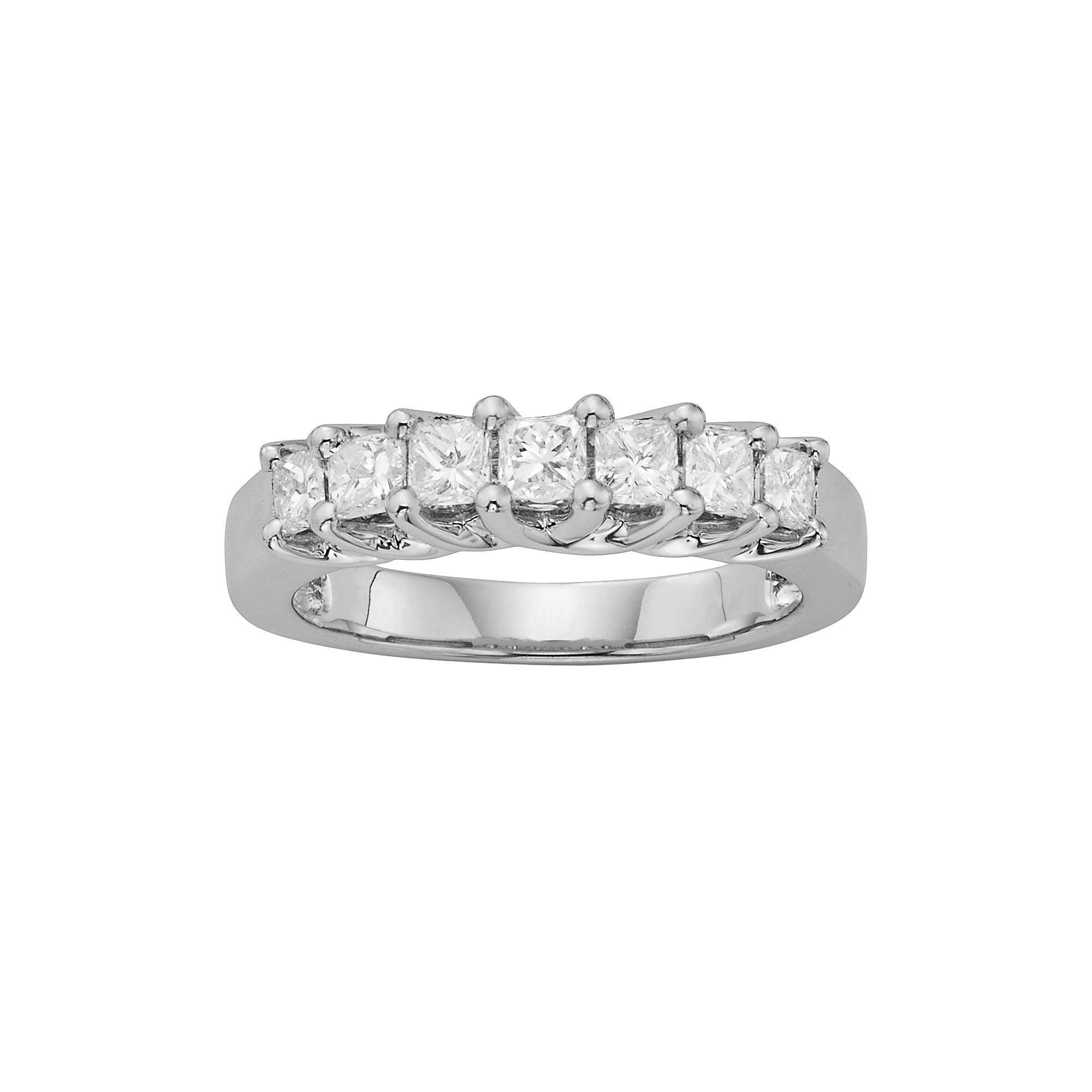 14K White Gold 1 Ct. T.w (View 1 of 25)