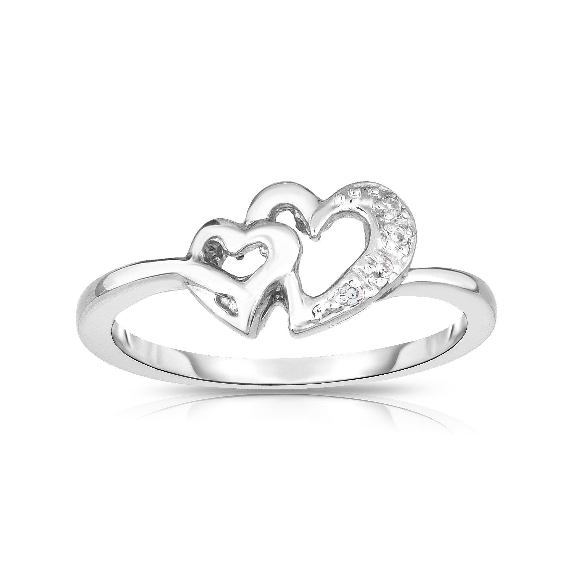 14k White Gold Diamond ( (View 9 of 25)