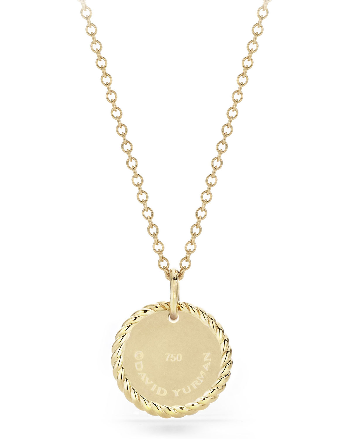 18K Cable Collectible Moon & Star Pendant Necklace Intended For Recent Polished Moon & Star Pendant Necklaces (View 5 of 25)