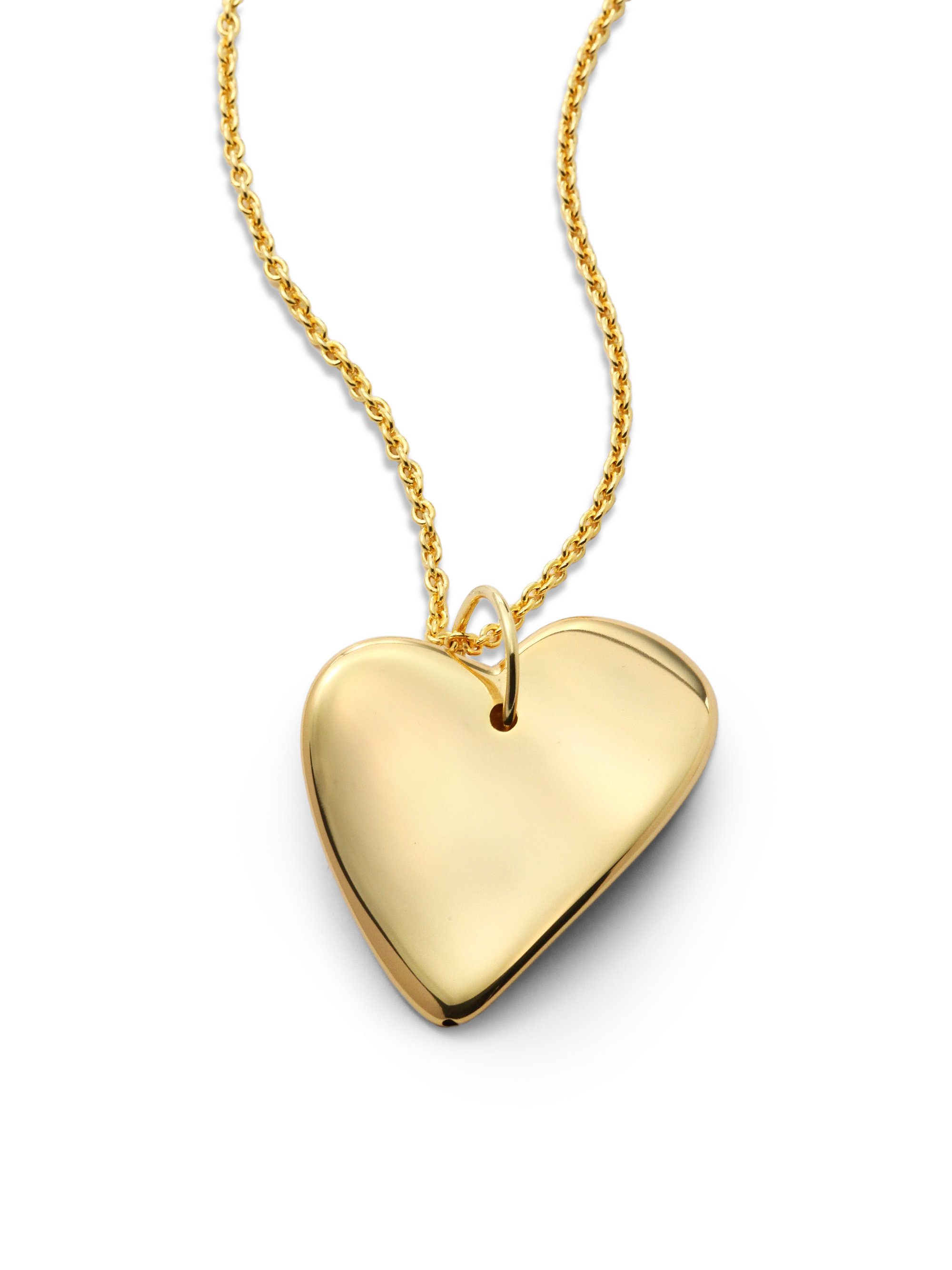 1Arunoaerre Metallic Asymmetrical Heart Pendant Necklace Pertaining To Most Current Asymmetrical Heart Necklaces (View 1 of 25)