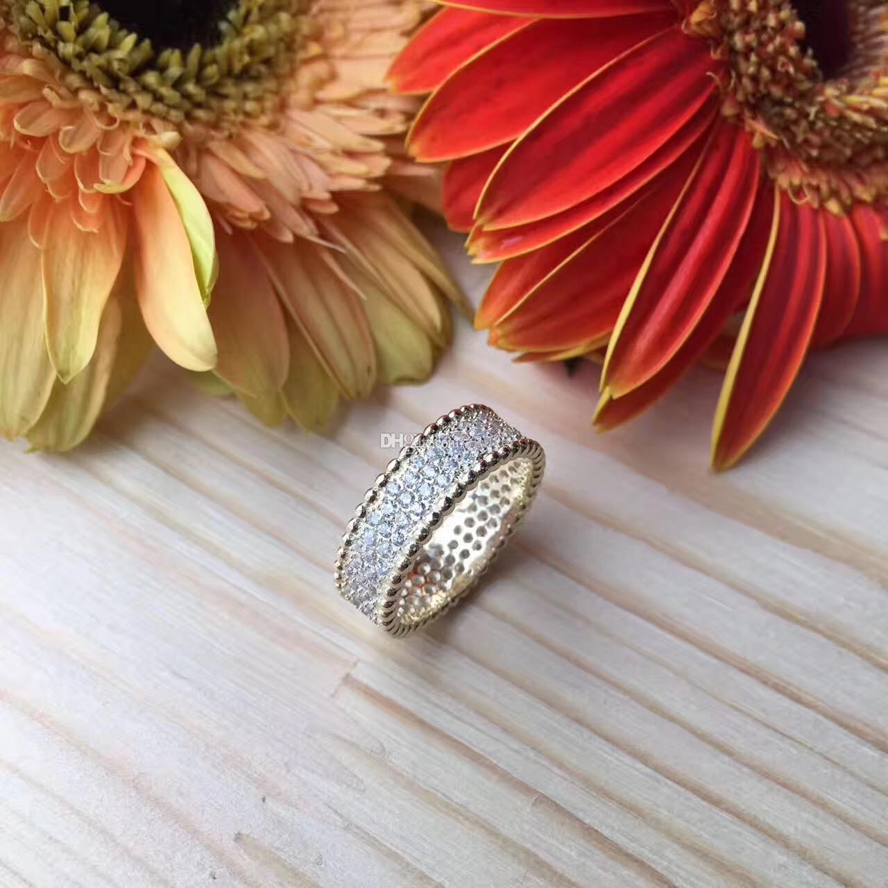 2017 Best Classic Design Wedding Band Jewelry Cubic Zircon Crystal Pave  Rings High Quality Fashion Clear Stone Ring 925 Sterling Silver In 2017 Classic Daisy Flower Band Rings (View 4 of 25)