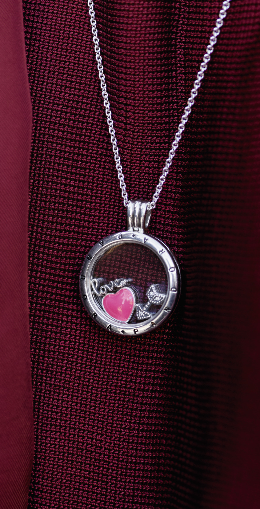 2018 Silver & Gold Jewelry Collection | Pandora Lockets | Jewelry With Regard To Current Heart Padlock Locket Element Necklaces (Gallery 9 of 25)