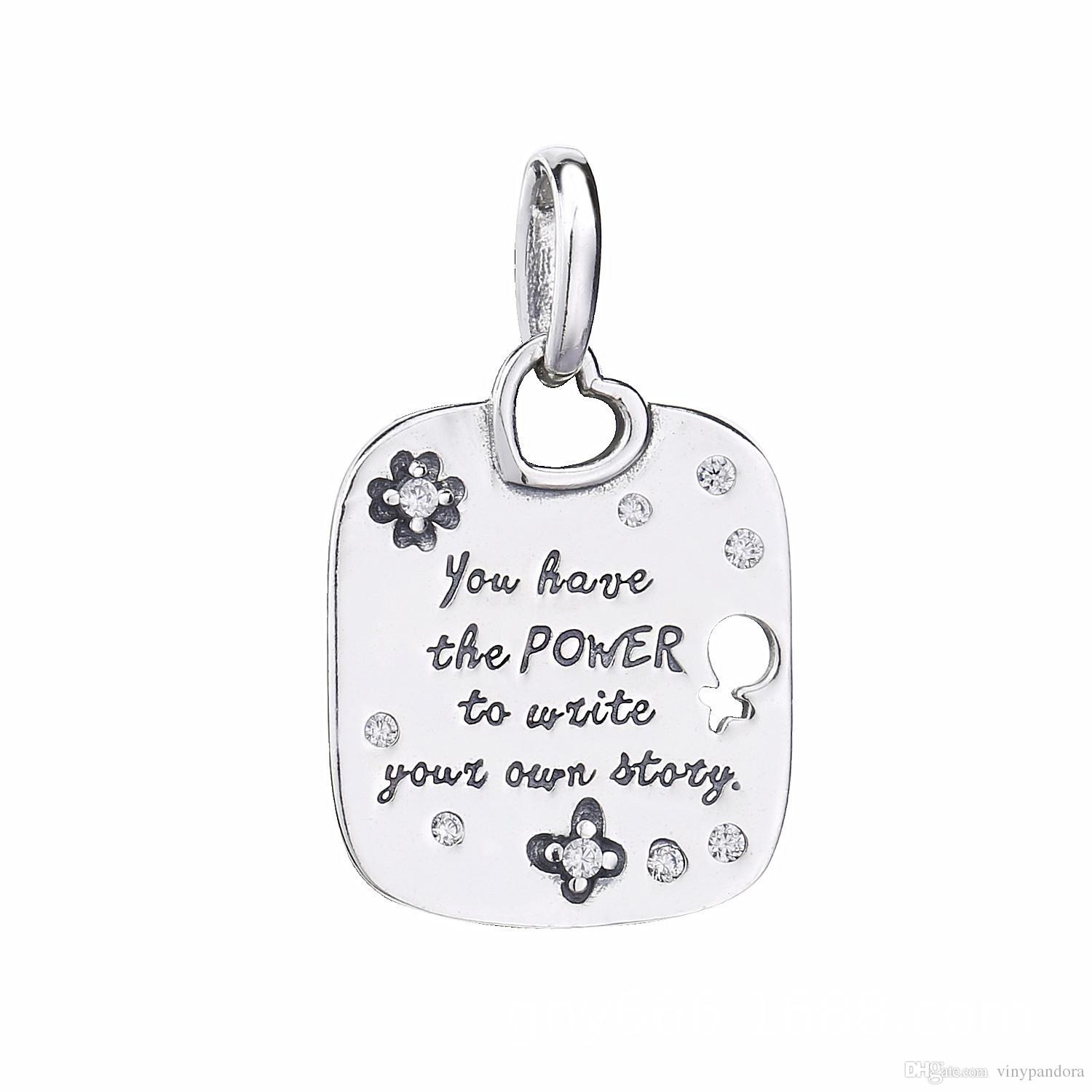 Featured Photo of Female Empowerment Motto Pendant Necklaces