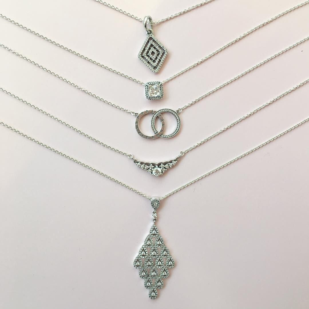 222 Gostos, 6 Comentários – Pandora Square One (@pandorasquareone Regarding Best And Newest Geometric Lines Necklaces (View 5 of 25)