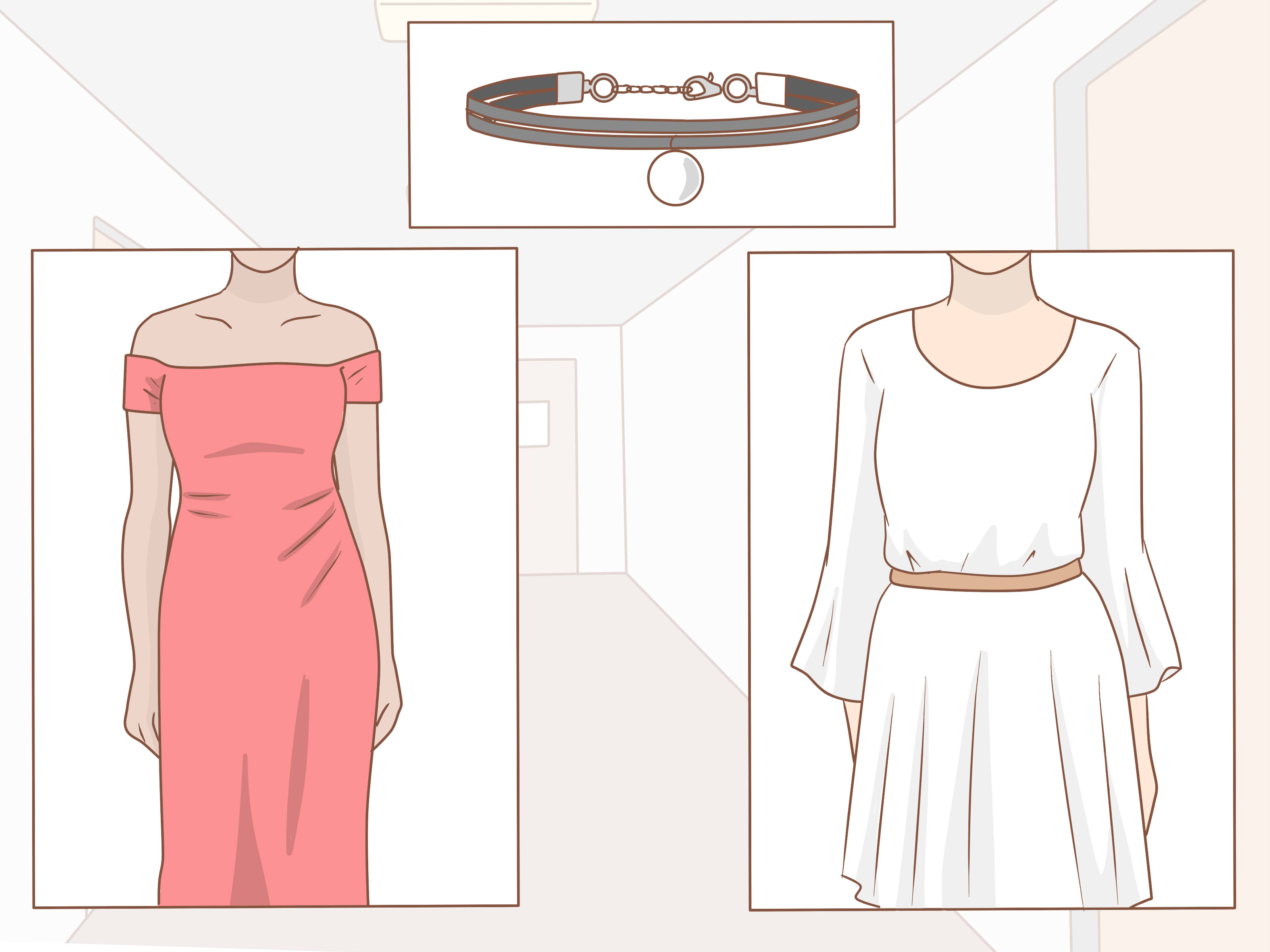 3 Ways To Choose A Choker Necklace – Wikihow For Most Recently Released Woven Fabric Choker Slider Necklaces (Gallery 25 of 25)